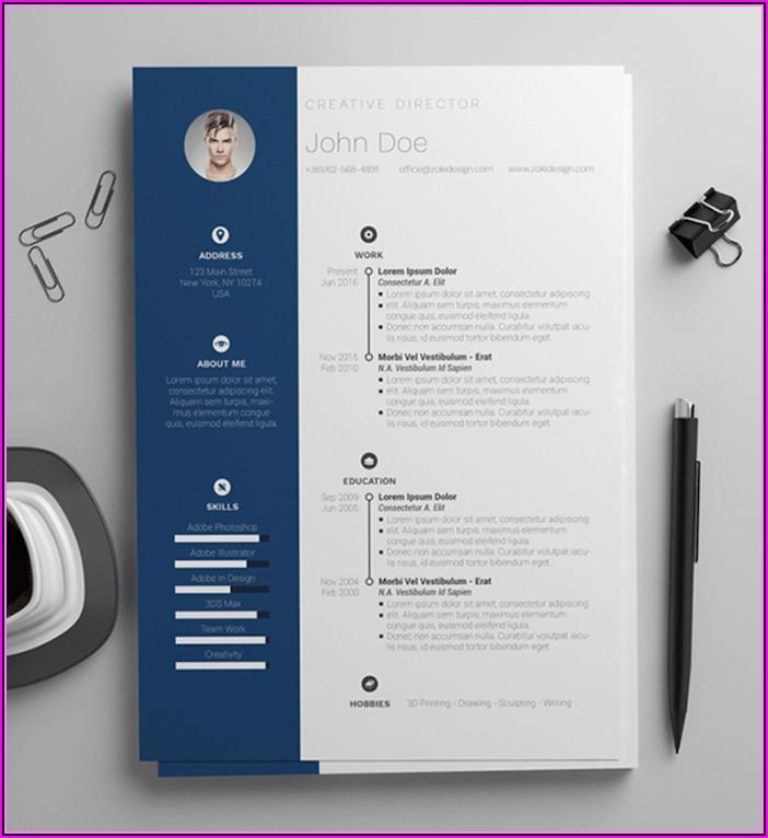 Nice Resume Templates Free Word