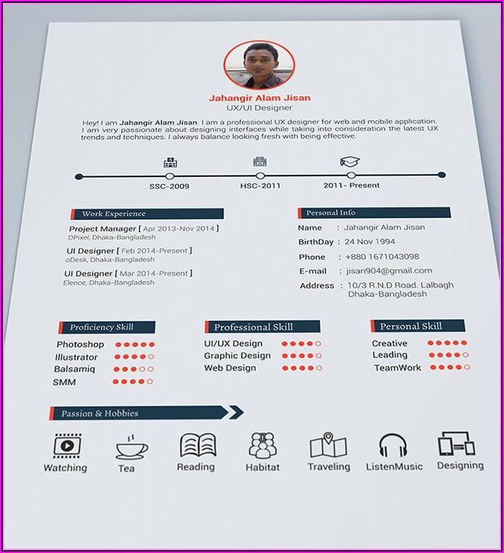 Nice Resume Templates Free