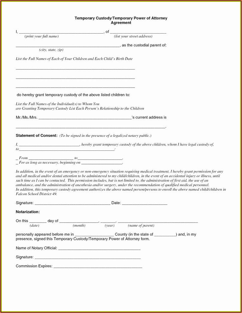 Nj Guardianship Forms 2018