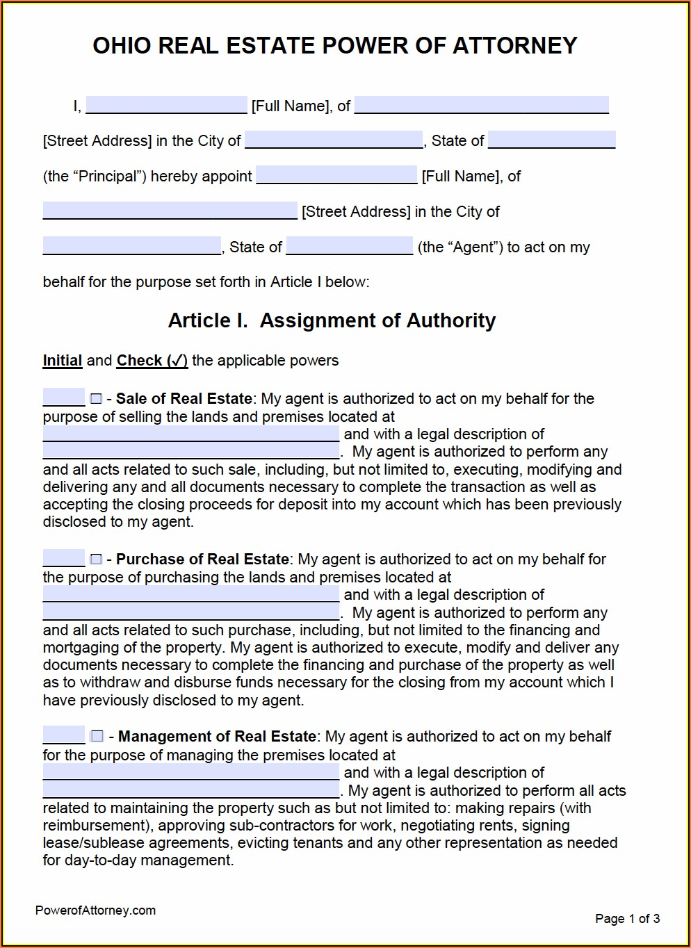 Offer To Purchase Real Estate Form Ohio Free