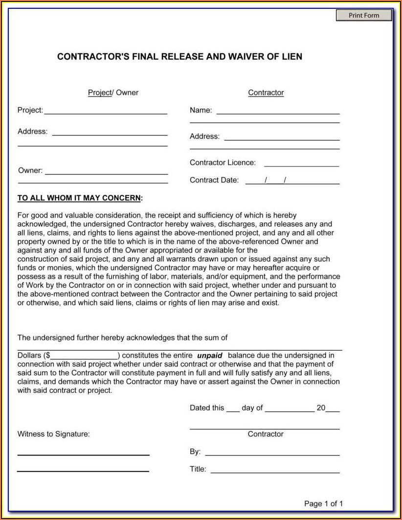 Oklahoma Dmv Lien Release Form