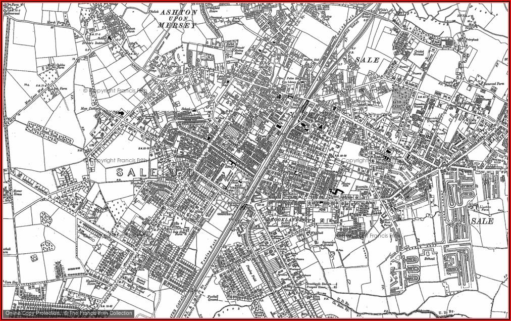 Old Ordnance Survey Maps For Sale