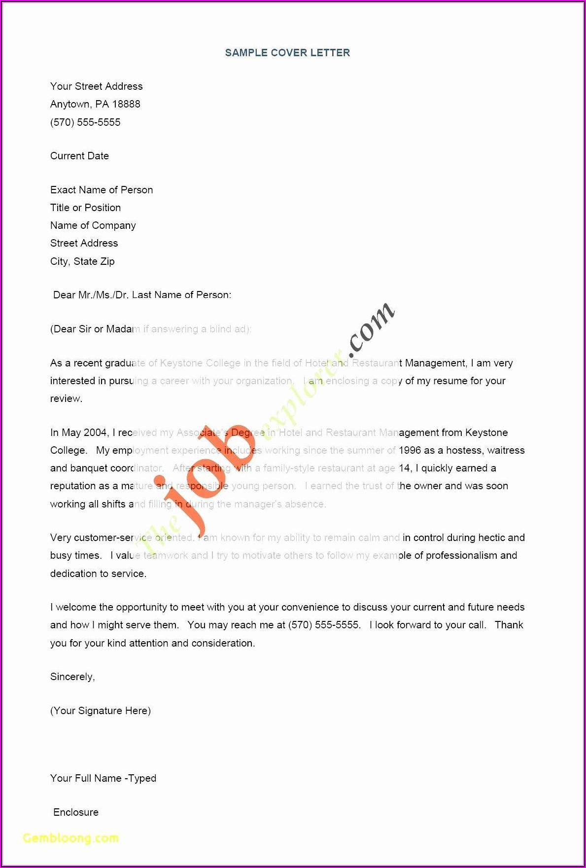 Online Resume Making For Freshers
