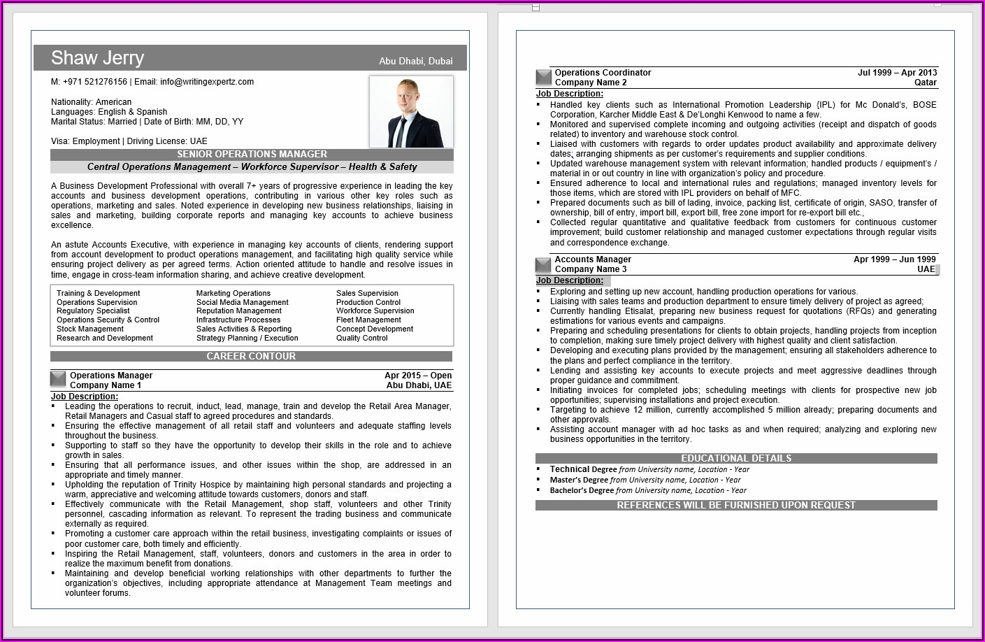 Optimus Professional Cv Writing & Resume Writing Services In Dubai Uae Www.optmc.com