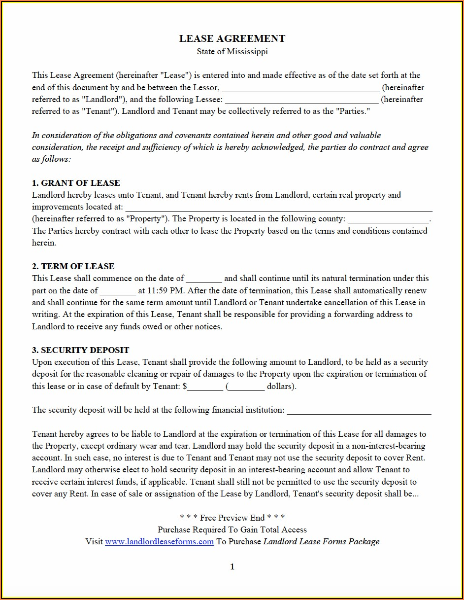 Oregon State Rental Agreement Forms