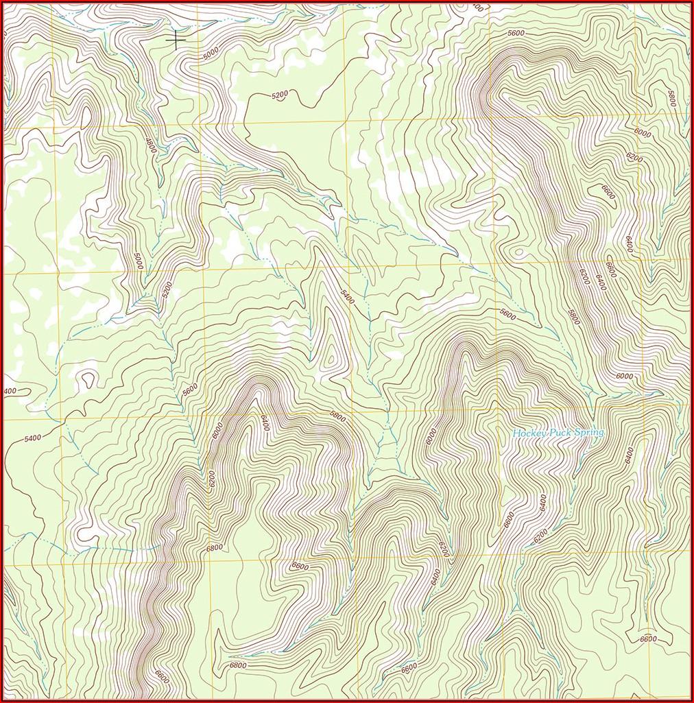 Paper Topo Maps For Sale