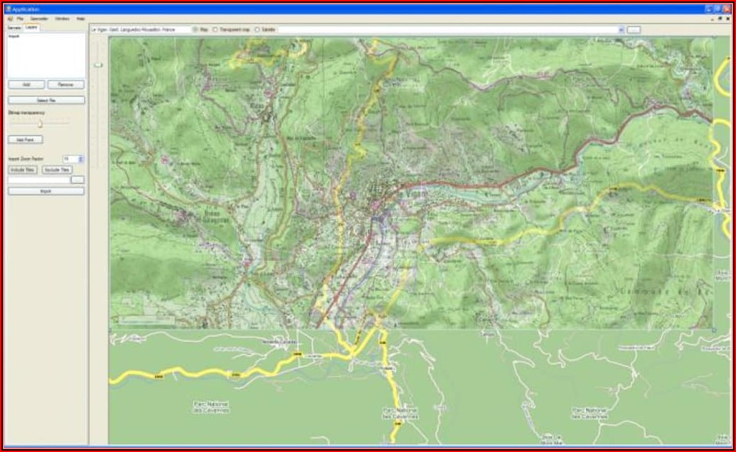 Pc Topo Mapping Software