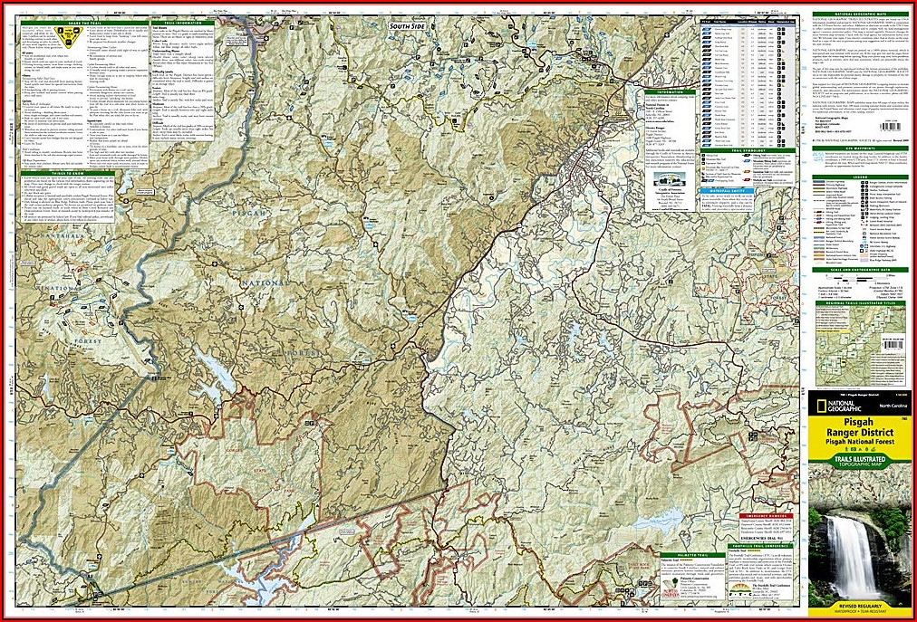 Pisgah National Forest Bike Trail Map