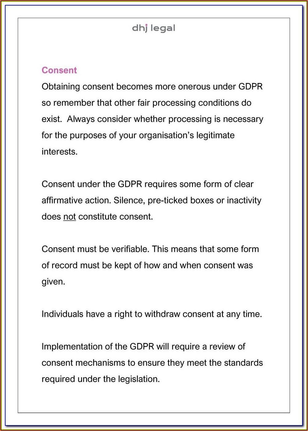Prevnar Consent Form