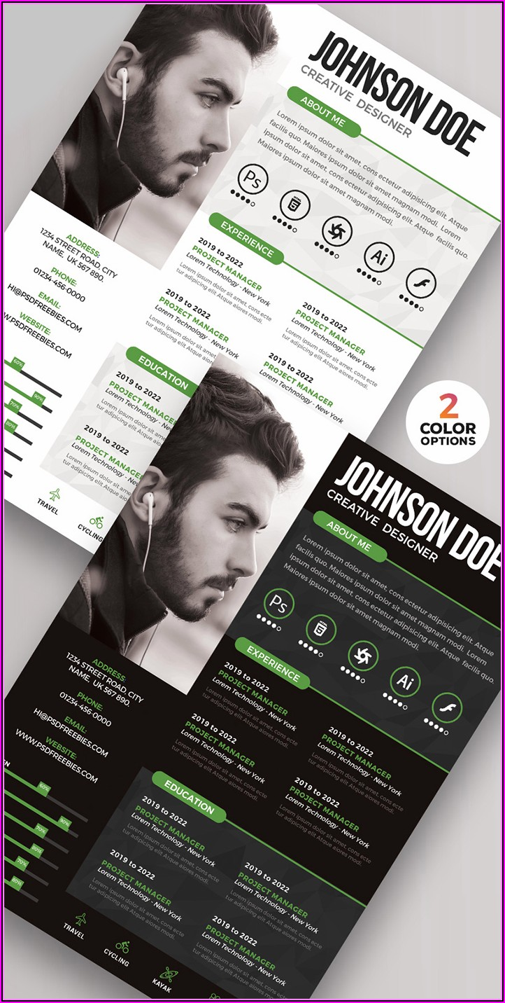 Professional Cv Design Templates Free Download