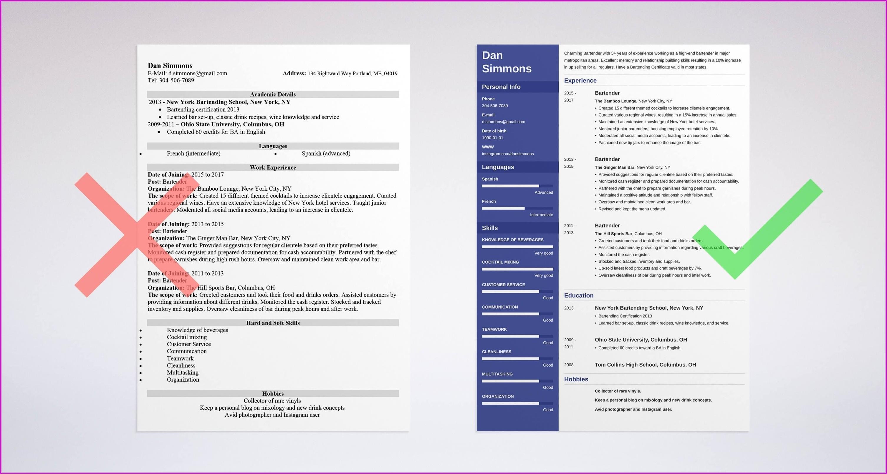 Professional Resume Services Columbus Ohio