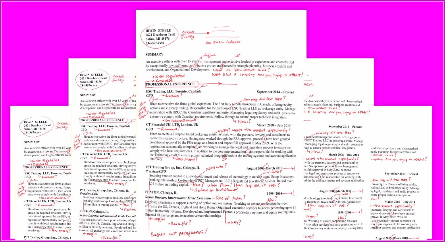 Professional Resume Writers Charlotte Nc