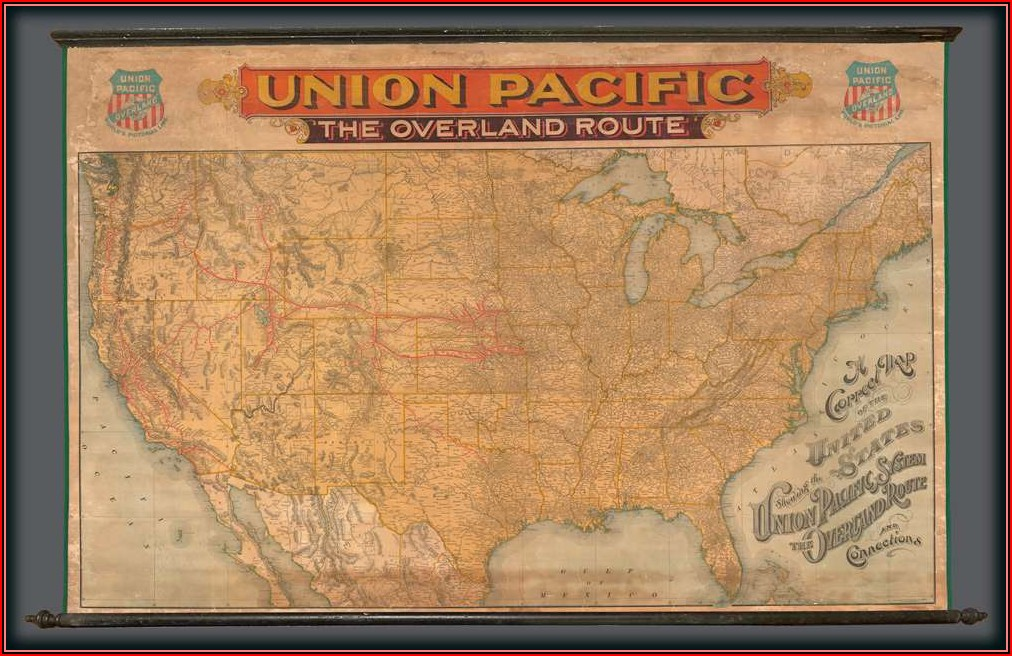 Rand Mcnally Map Of The United States