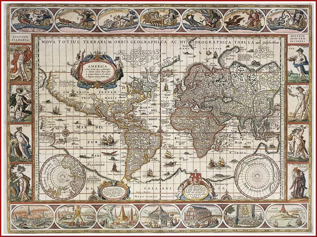 Ravensburger World Map Jigsaw Puzzle (2000 Piece)