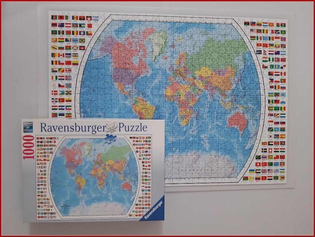 Ravensburger World Map Puzzle 1000