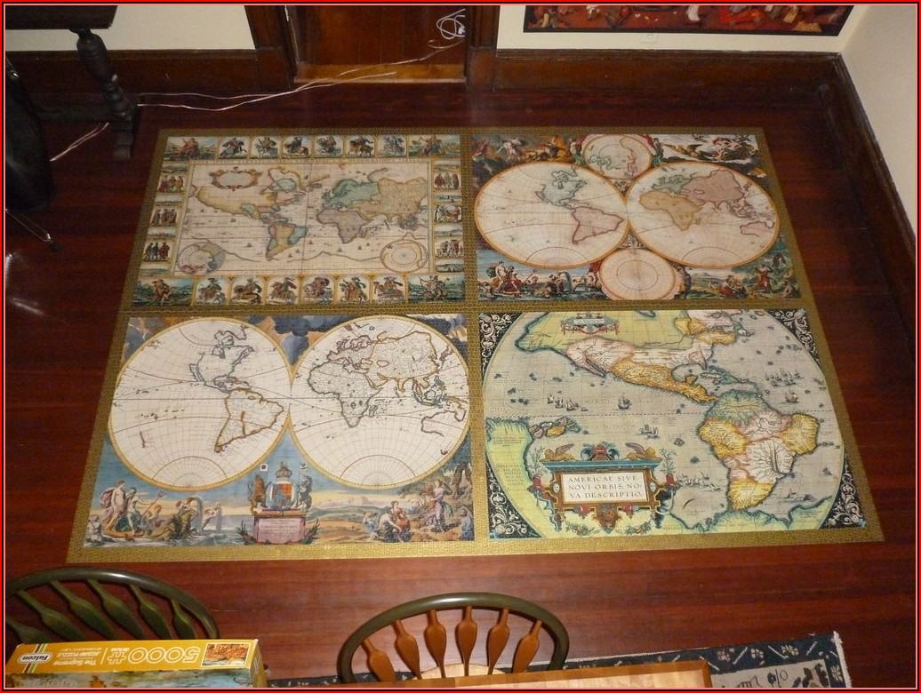 Ravensburger World Map Puzzle 18000