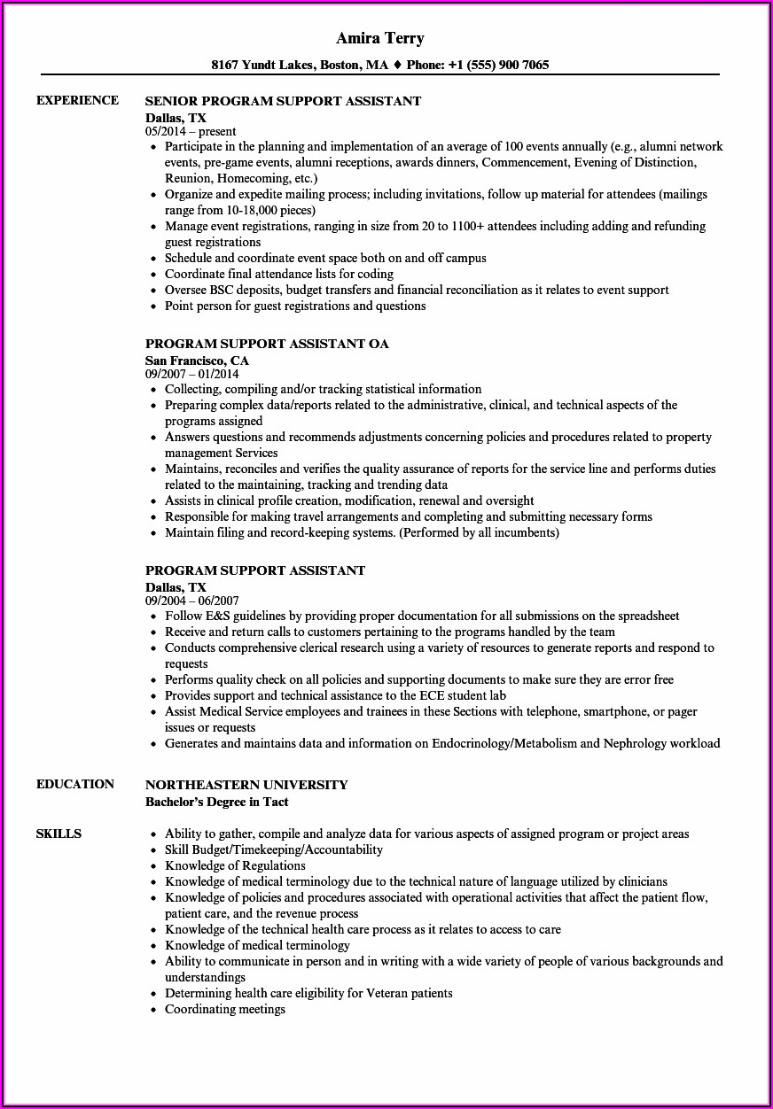 Resume Builder Federal Government Jobs