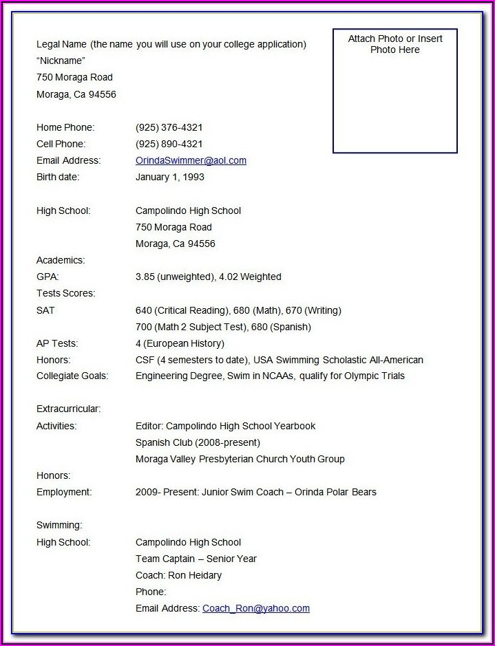 Resume Format For Assistant Manager Logistics