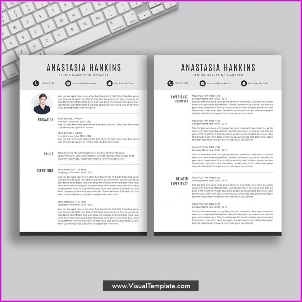 Resume Format For Job In Word Free Download