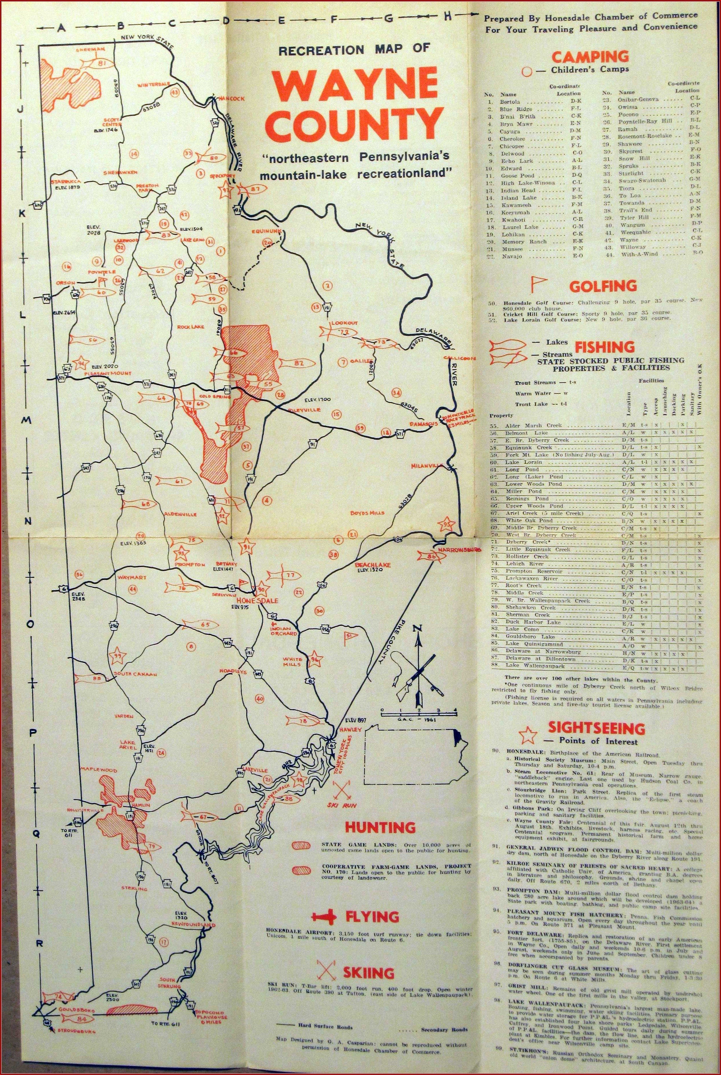 Road Map Of Clearfield County Pa