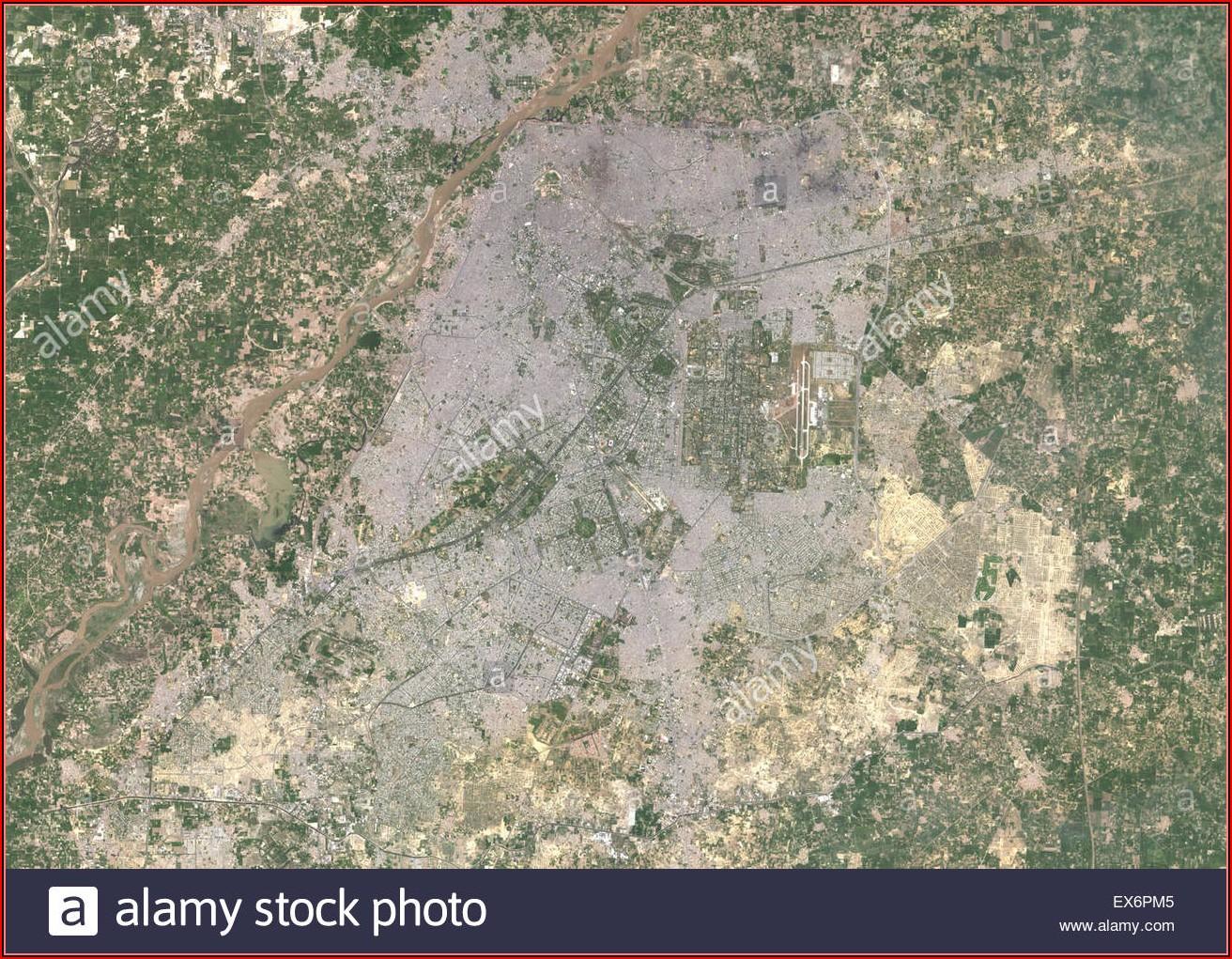 Satellite Map Of Pakistan Live Lahore