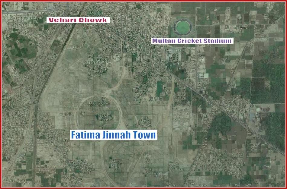 Satellite Map Of Pakistan Live Online Faisalabad