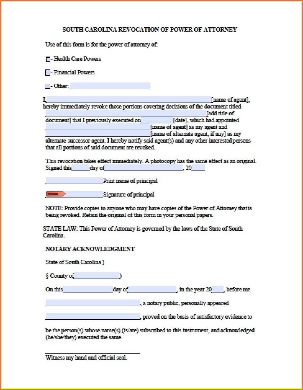 Sc Legal Guardianship Forms