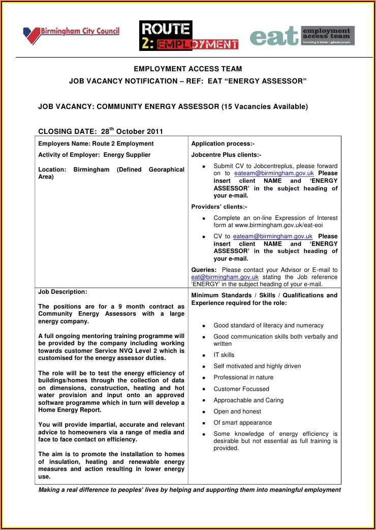 Self Employed Form Birmingham City Council