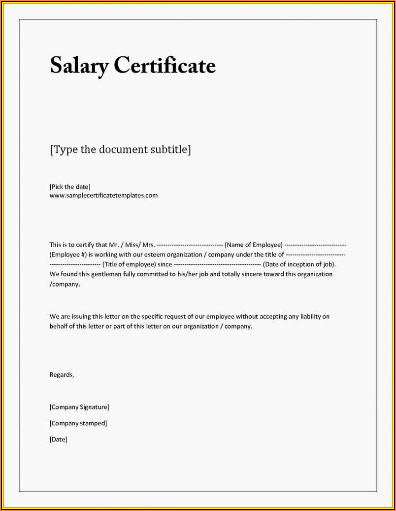 Simple Loan Agreement Format
