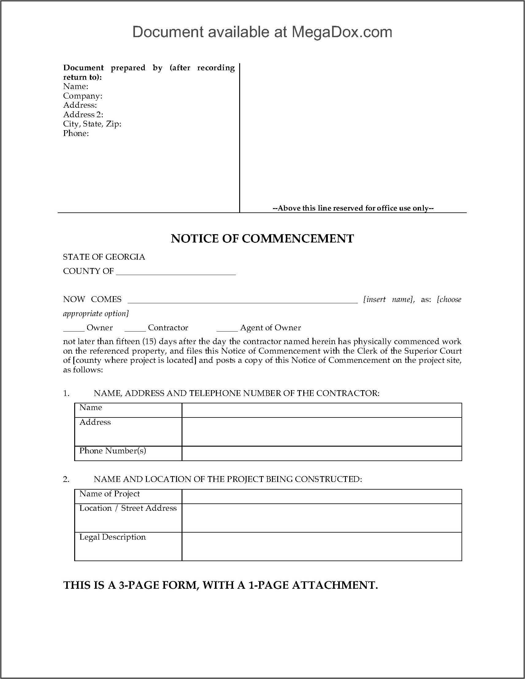 State Of Georgia Legal Forms