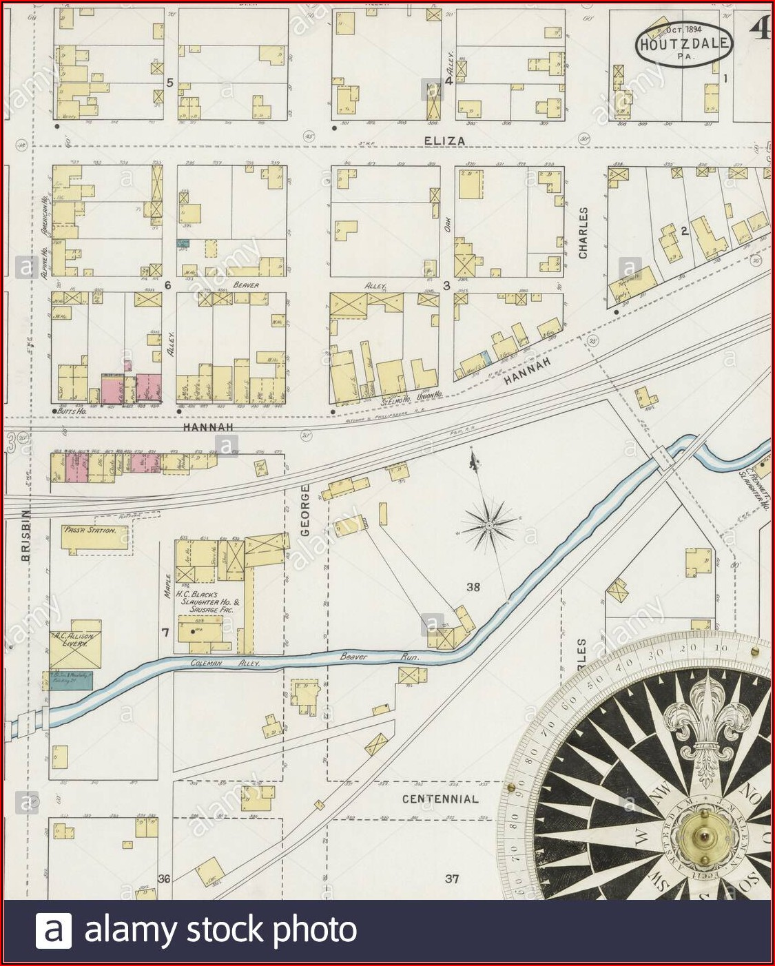 Street Map Of Clearfield Pa