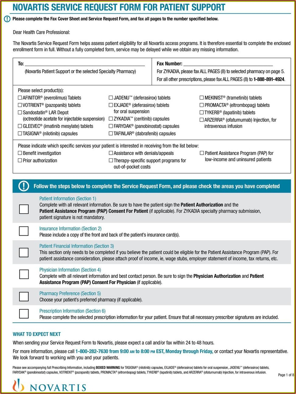 Suboxone Patient Assistance Program Enrollment Form