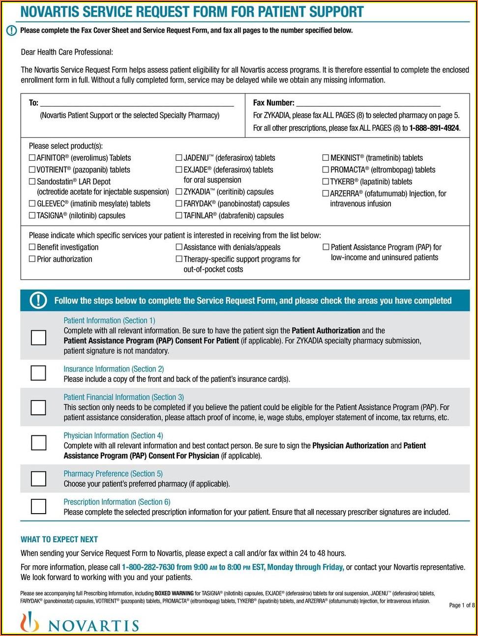 Suboxone Patient Assistance Program Enrollment Form