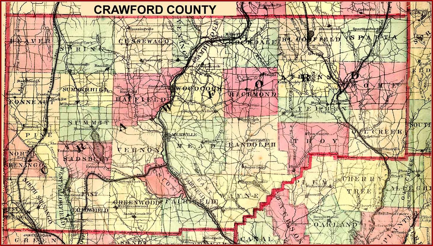 Tax Map Crawford County Pa