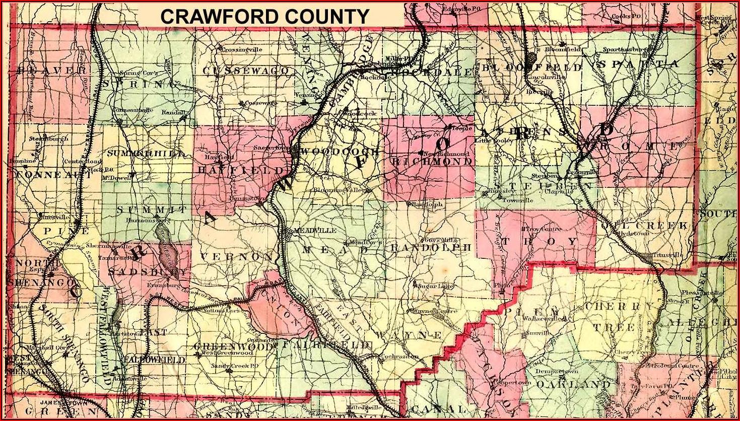Tax Map Crawford County Pa