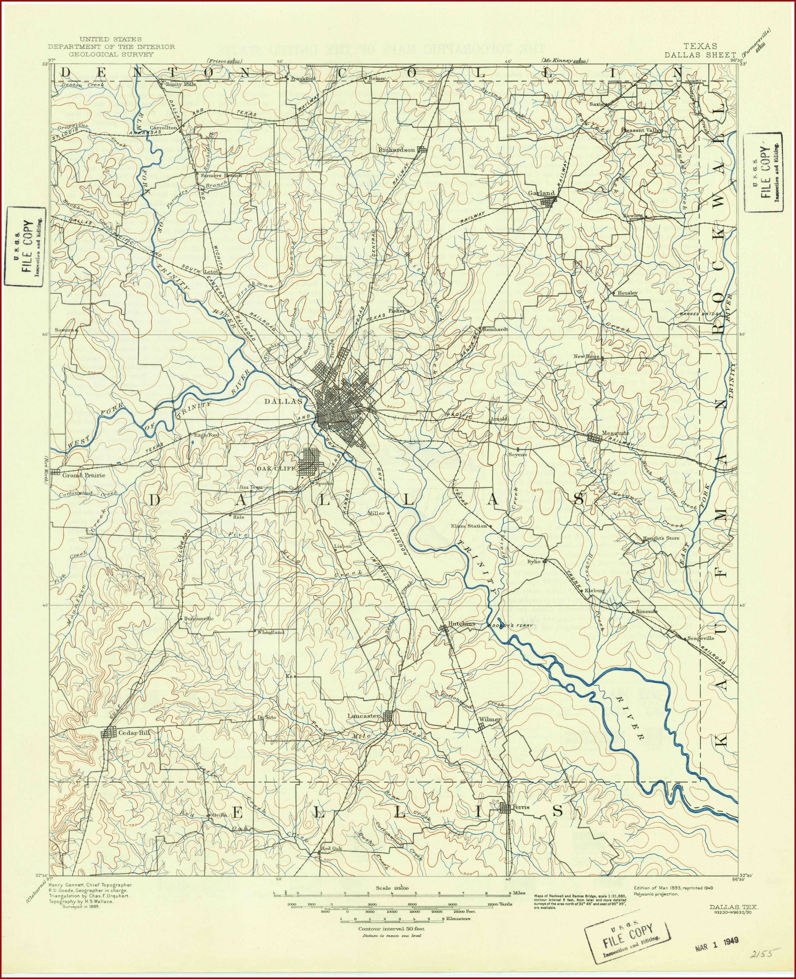 Texas Historical Topo Maps