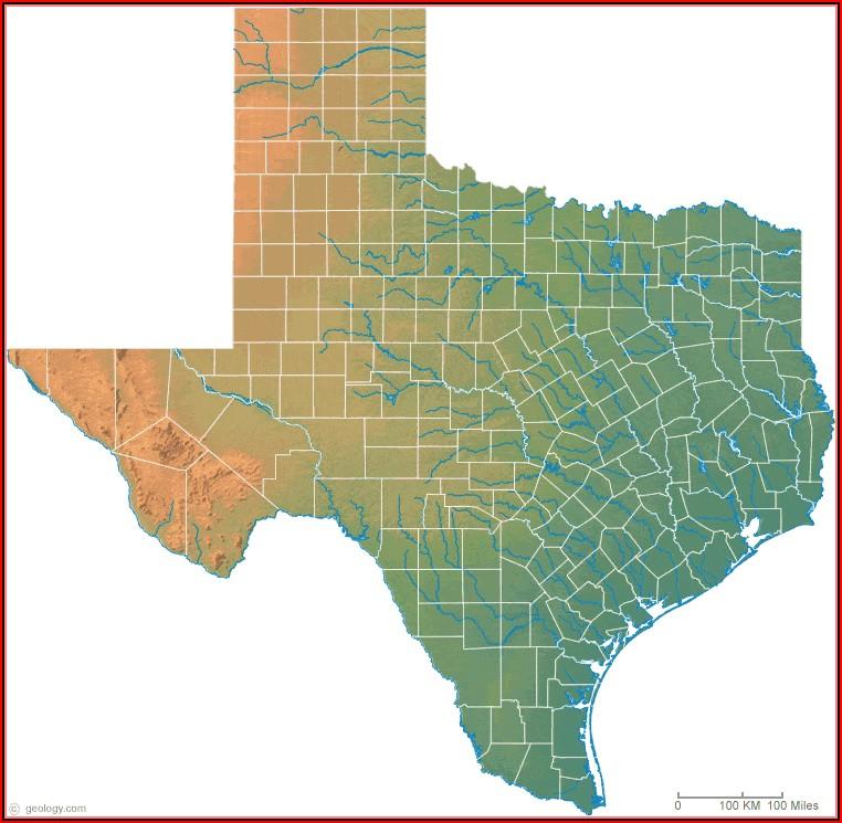 Texas Topo Maps