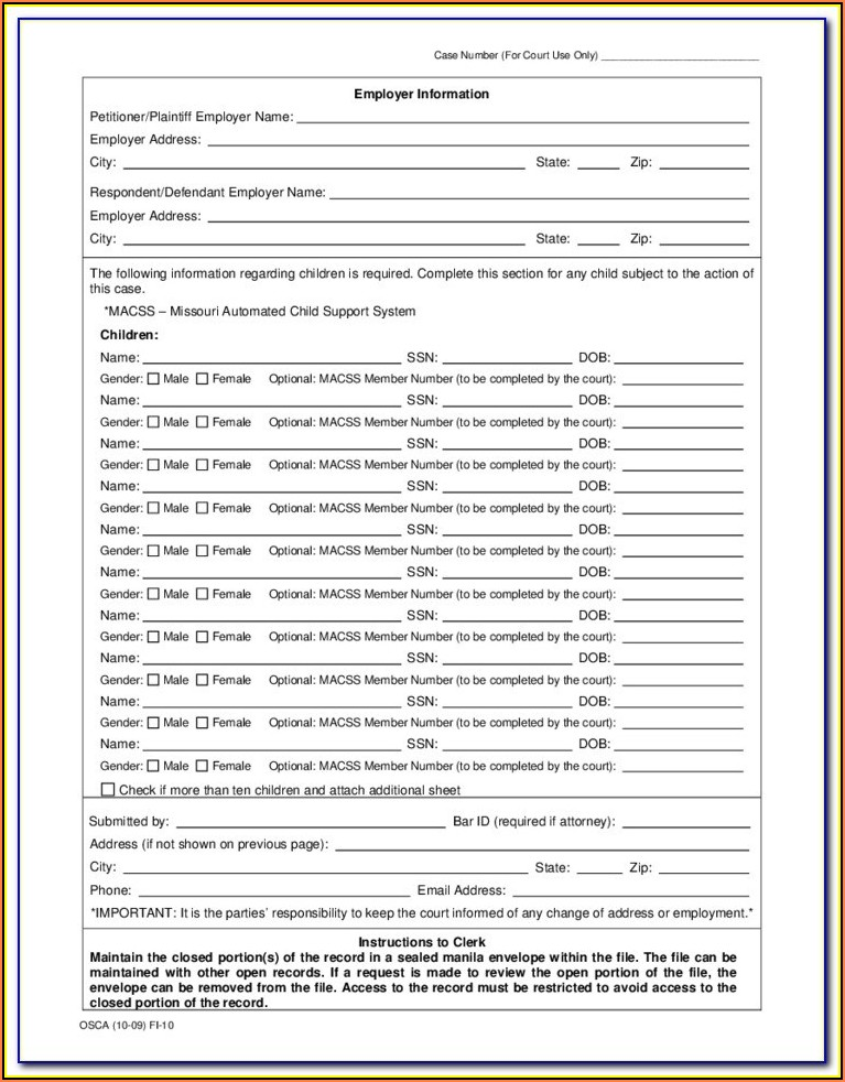 Williamson County Probate Court Forms