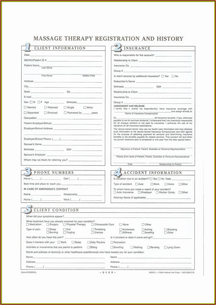 Workers Compensation Client Intake Form