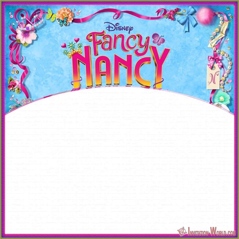 Fancy Invitation Template Download
