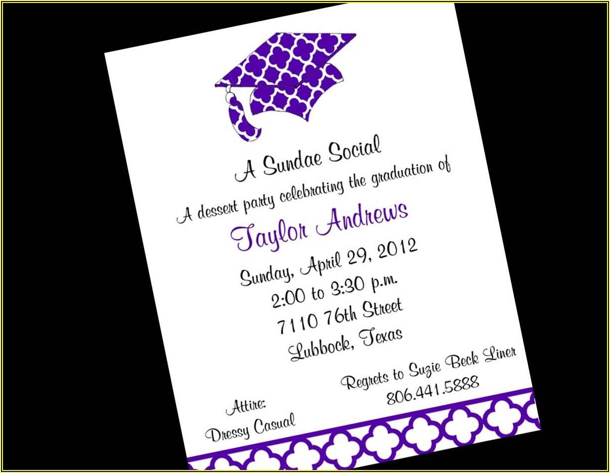Farewell Invitation Card Template Free Download