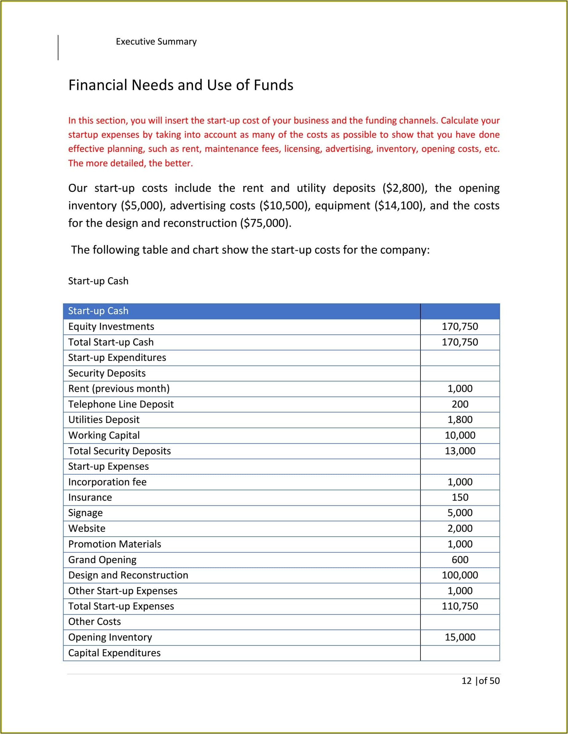 Financial Strategic Plan Template Excel