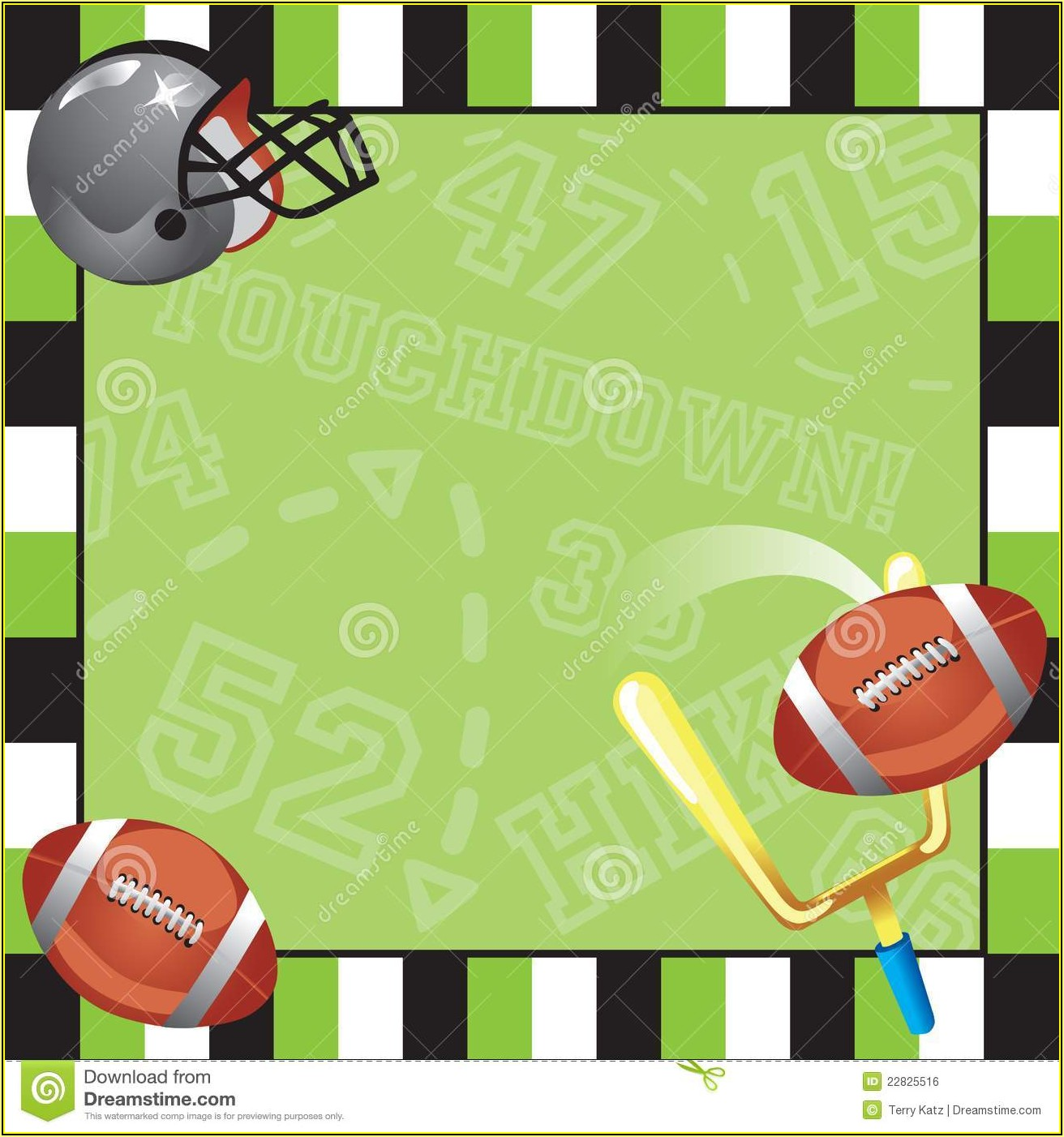 Football Party Invitations Templates Free