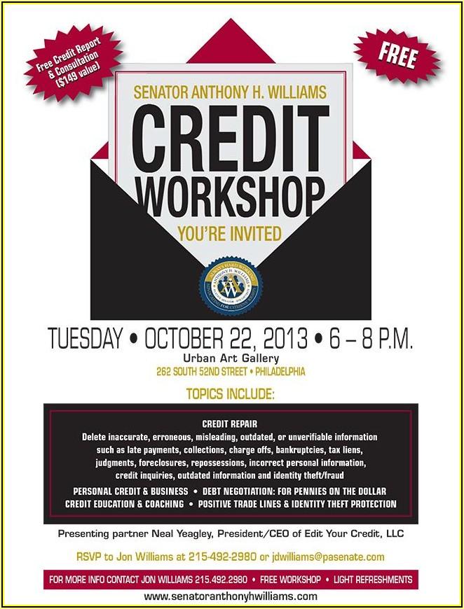 Free Credit Repair Flyer Templates