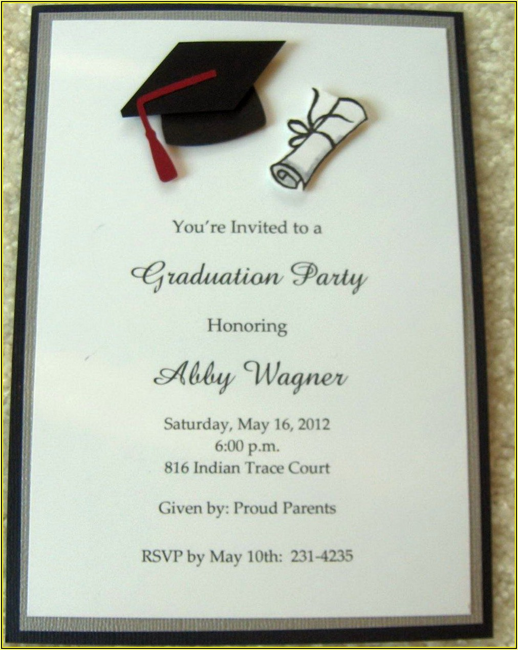Free High School Graduation Invitation Templates