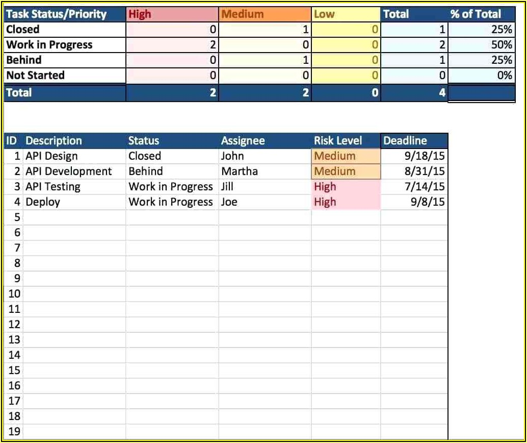Free Inventory Excel Templates Download