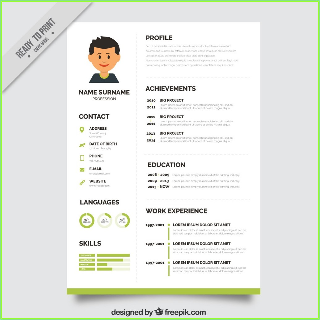 Resume Free Download Word File