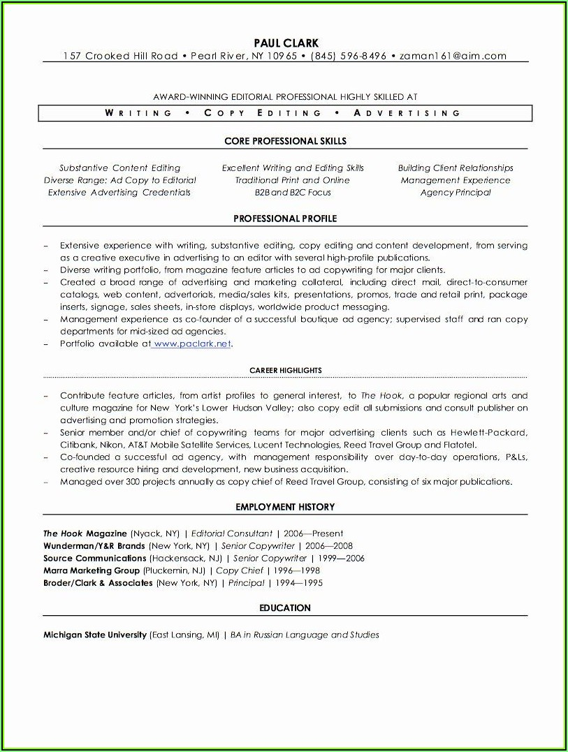 Resume Writers Wanted