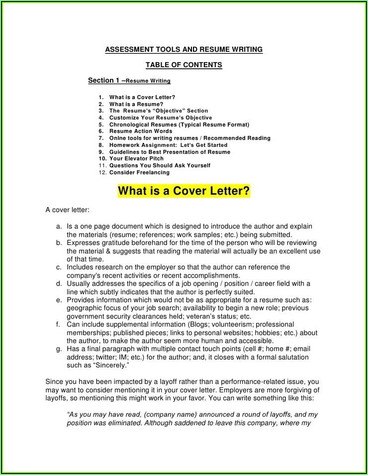 Resume Writing Companies Toronto