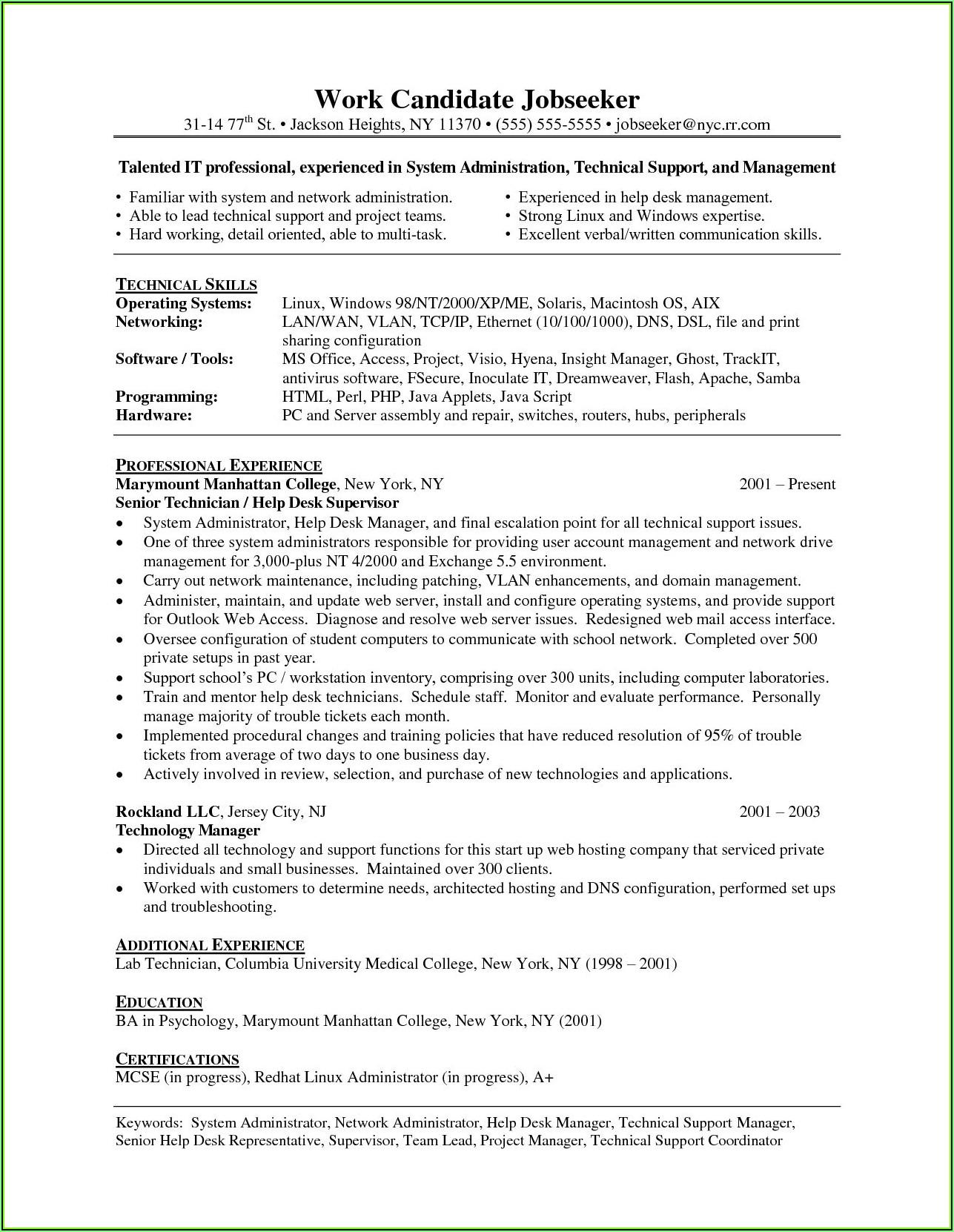 Resume Writing Programs Free